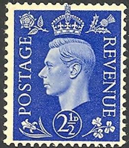 Great Britain #239a  Mint VF wmk sideways