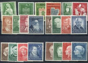 Germany lot of better sets  Mint VF LH