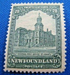 NEWFOUNDLAND  1928  -  SCOTT # 158  -   MH   (Hn6)