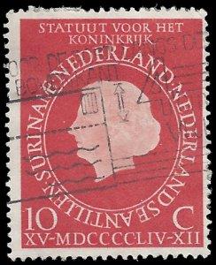 Netherlands #366 1954 Used