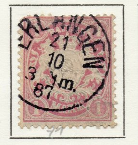 Bayern Bavaria 1901 Early Issue Fine Used 1M. NW-120741