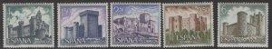 SPAIN SG1985/9 1969 SPANISH CASTLES MNH