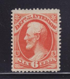 O18 VF original gum mint previously hinged with nice color cv $ 70 ! see pic !