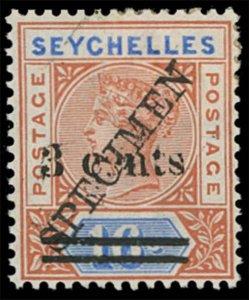 Seychelles Scott 29s-32s Gibbons 37s-40s Specimen