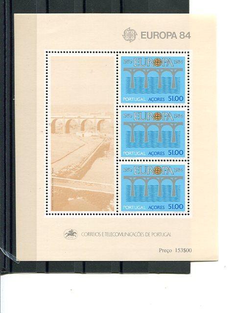 Portugal Azores Europa  1984  Mint  VF NH   - Lakeshore Philatelics