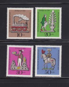 Germany B450-B453 Set MNH Tin Toys (C)