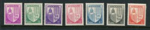French Andorra #78-84 Mint