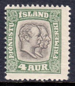 Iceland - Scott #O32 - MH - SCV $4.00