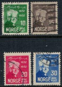 Norway #154-7  CV $7.25 (minor creasing #155)