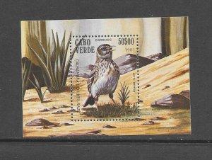 BIRDS - CAPE VERDE #441  MNH