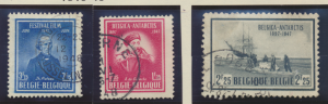 Belgium Stamps Scott #368 To 373, Used, 1946-7 Sets - Free U.S. Shipping, Fre...