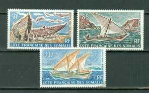 SOMALI COAST SAIL BOATS #C32-34...SET...MNH...$28.75