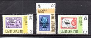 Tristan da Cunha 260-262 MNH