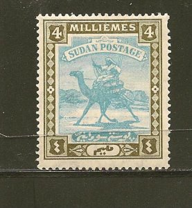 Sudan 20 Mint Hinged