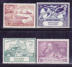 Pitcairn Is Scott # 13-16 MLH set nice colors scv $ 44 ! see pic !