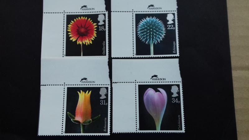 Great Britain 1987 Flowers Mint