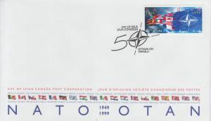1999 Canada NATO (Scott 1809) FDC
