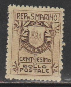 San Marino   SC  78  Mint Lightly Hinged