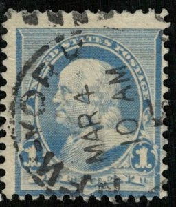 1890, Benjamin Franklin, 1c, USA (Т-9749)