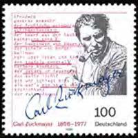GERMANY 1996 - Scott# 1950 Playwright Zuckmayer Set of 1 NH
