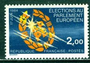 France; 1984; Sc. # 1927; **/MNH Cpl. Set