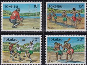 Tokelau 69-72 MNH (1979)