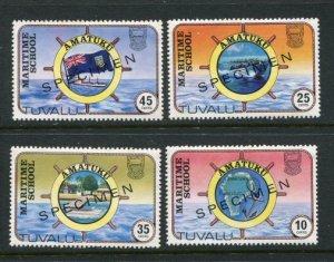 Tuvalu #166-9 SPECIMEN Overprint MNH