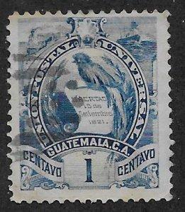 GUATEMALA SC#  31  F/CTO