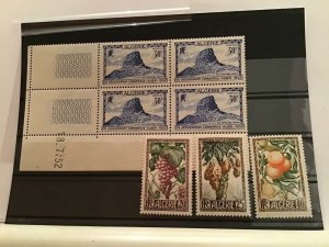 Algeria mint never hinged stamps R21612