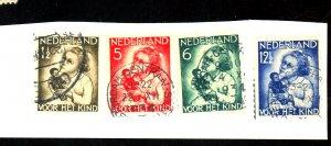 NETHERLANDS #B73-6 USED FVF Cat $17
