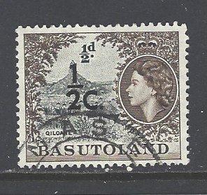 Basutoland Sc # 72 used (DT)