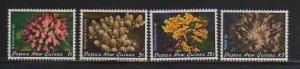 Papua New Guinea MNH 566-9 Corals