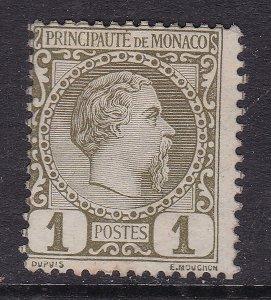 MONACO ^^^1885  sc#1   mint   CLASSIC $ 25.00@dc63mona