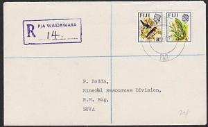 FIJI 1979 Registered cover ex WAIDAWARA postal agency.......................5804