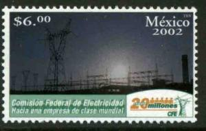 MEXICO 2289, Federal Electricity Commission. MINT, NH. VF.
