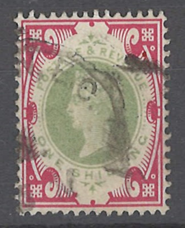 COLLECTION LOT OF # 1949 GREAT BRITAIN #126 1900 CV+$145