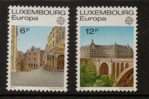 LUXEMBOURG SG985/6 1977 EUROPA MNH