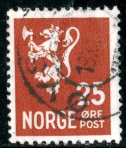 NORWAY #197, USED - 1940 - NORWAY086NS13