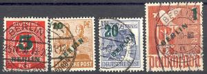 Berlin #9N64-67 Used   VF