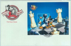 84850 - AZERBAIJAN - Postal History -  FDC COVERS Chess DISNEY 1998 Pluto Mickey