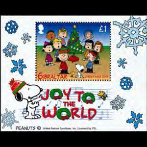 GIBRALTAR 2003 - Scott# 959 S/S Christmas NH
