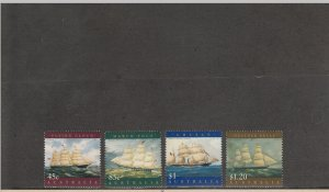 AUSTRALIA 1630-1633 MNH 2019 SCOTT CATALOGUE VALUE $7.15