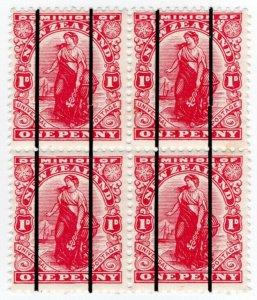 (I.B-CK) New Zealand Postal : Dickie coin-in-the-slot Experimental Stamps ½d