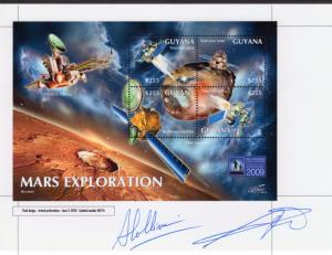 Guyana 2011 Mars Exploration Space Deluxe Final Proof Astronomy Year