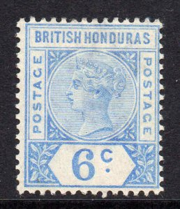 British Honduras 1891 QV 6c ultramarine SG 56 mint