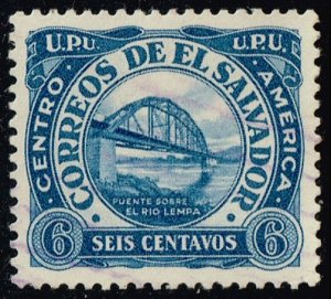 El Salvador #499 Bridge over Lempa River; Used (4Stars)