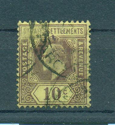 Straits Settlements sc# 116 (1) used cat value $1.10