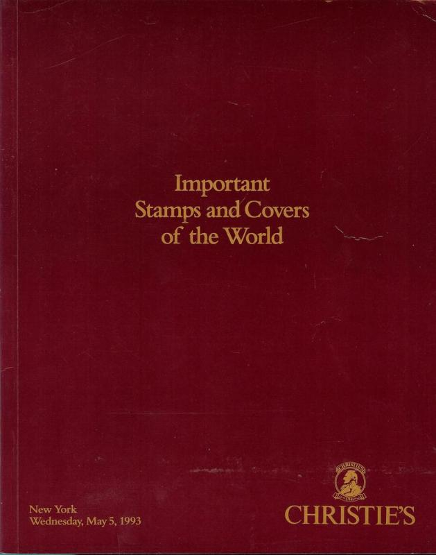 Important Stamps and Covers of the World, Christie's 7668