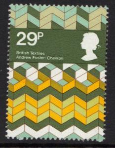 Great Britain 1982 MNH British textiles  29p  #