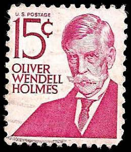 # 1288 USED OLIVER WEDELL HOLMES TYPE I